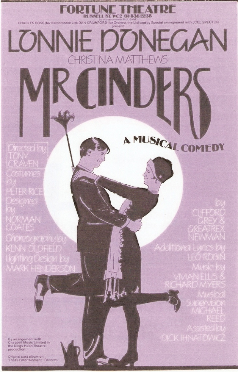 Poster For Mr. Cinders